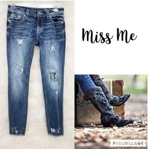 MISS ME Signature Ankle Skinny Jeans Women's 29